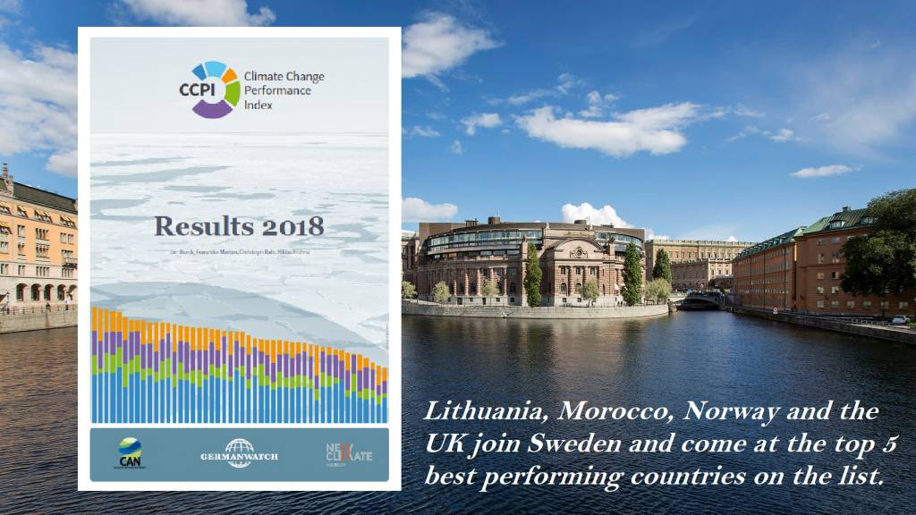 Climate Action Network, Climate Change Performance Index 2018, CAN, Germanwatch, Paris Agreenemt, CSE, Certified Sustainability (CSR) Practitioner Program.